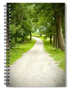 Life's Path Spiral Notebook