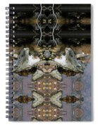 Lifting Up My Golden Eyes In Prayer Spiral Notebook