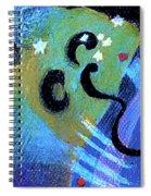 Light 3 Spiral Notebook