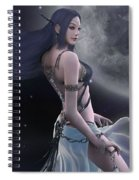 Light And Darkness Spiral Notebook