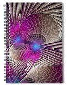 Light And Lines Spiral Notebook