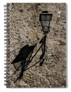 Light And Shadow Spiral Notebook