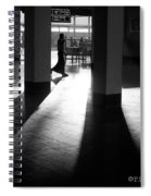 Light And Shadows Spiral Notebook