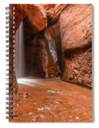 Light At The End Of The Tunnel Spiral Notebook