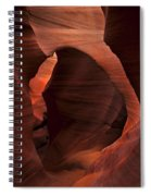 Light At Tne End Of The Tunnel Spiral Notebook