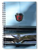 Light Blue Ford Pickup Spiral Notebook