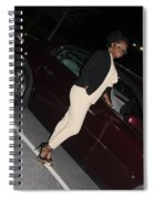 Light Brown 13 Spiral Notebook