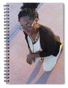 Light Brown 2 Spiral Notebook
