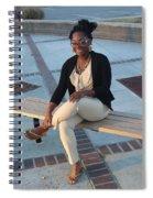 Light Brown 3 Spiral Notebook