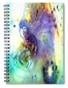 Light Dancer Spiral Notebook