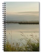 Light Falling Softly On The Marsh Spiral Notebook