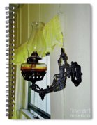Light From The Past Spiral Notebook