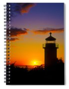 Light House At Fort Casey Washington Spiral Notebook