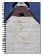 Light House At Montauk  Spiral Notebook