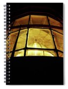 Light In The Dark Sky Spiral Notebook