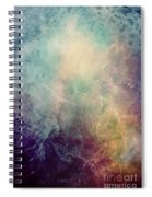 Light Of Life Abstract Painting Spiral Notebook