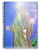 Light Of Life Spiral Notebook