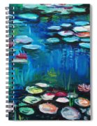 Light Of The Lillies Spiral Notebook