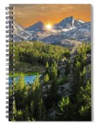 Light On Mack Lake Spiral Notebook