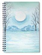 Light On The Field Spiral Notebook