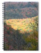 Light On The Valley Spiral Notebook