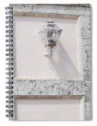 Light On The Wall Spiral Notebook