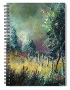 Light On Trees Spiral Notebook