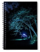 Light Painted Arched Tree  Spiral Notebook