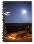 Light Painter Spiral Notebook