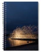 Light Painting Spiral Notebook