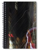 Light Paintings - No 3 - Creative Fuel Spiral Notebook