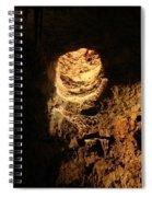 Light Peeks Through - Cave Spiral Notebook