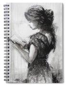 Light Reading  Spiral Notebook