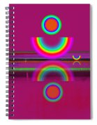 Light Red Spiral Notebook