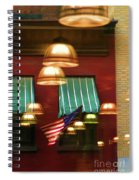 Light Reflection Nyc Canopy  Spiral Notebook