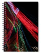 Light Ribbons Spiral Notebook