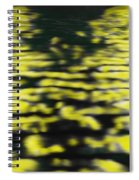 Light Ripples On Water Spiral Notebook