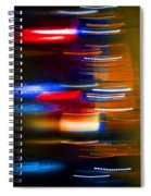 Light Speed Spiral Notebook