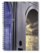 Light Splattered Arches Spiral Notebook