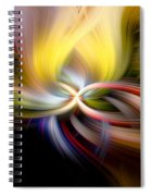 Light Swirl Spiral Notebook