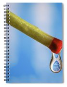 Light The Menorah Candles Spiral Notebook