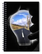 Light The Way Home Spiral Notebook