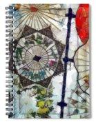 Light Through A Japanese Screen Spiral Notebook