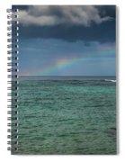 Light Through The Rain Spiral Notebook