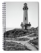Light Tower Of The Pacific Spiral Notebook