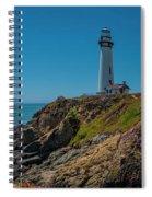 Light Tower Panoramic Spiral Notebook