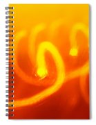 Light Trail Abstract Spiral Notebook