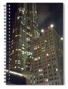 Light Up The City Spiral Notebook