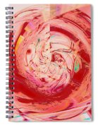 Light Waves Spiral Notebook