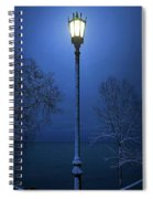 Light Winter Blue Spiral Notebook